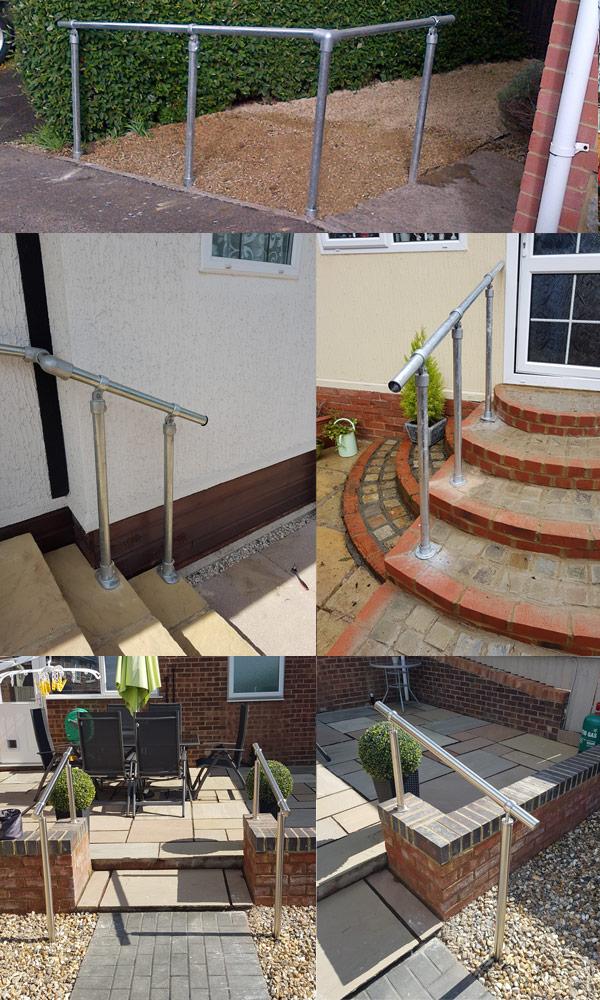 external handrails